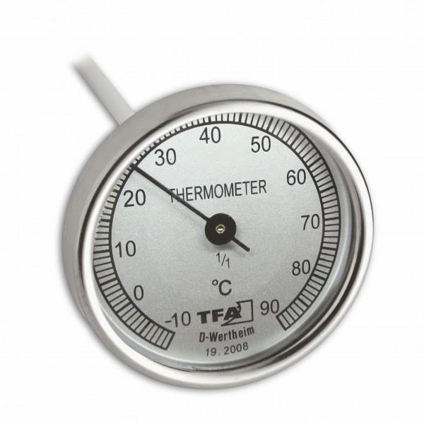 TFA 19.2008 Analoges Kompostthermometer aus Edelstahl