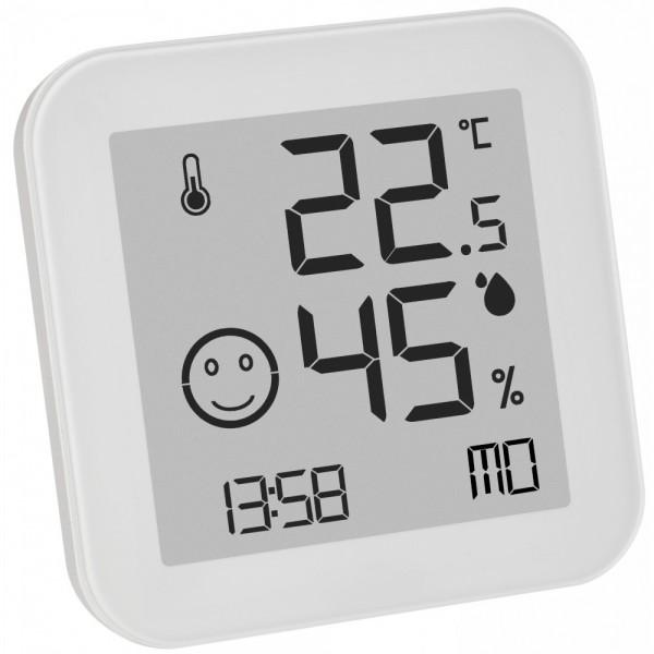 Digitales Thermo-Hygrometer TFA 30.5054 Black & White Komfortzone