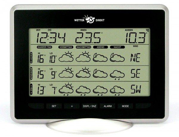Wetterstation Wetterdirekt Sirius 300 Plus-Version