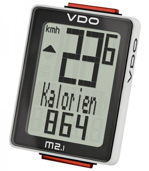 VDO M2.1 WL Analoger-Funk-Fahrradcomputer Biketacho