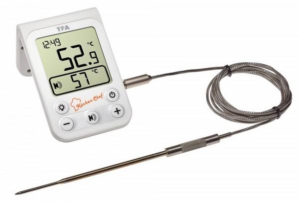 Küchen-Chef TFA 14.1510.02 Digitales Grill-Bratenthermometer