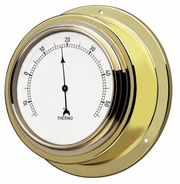 TFA 19.2015 Analoges Thermometer aus Messing MARITIM