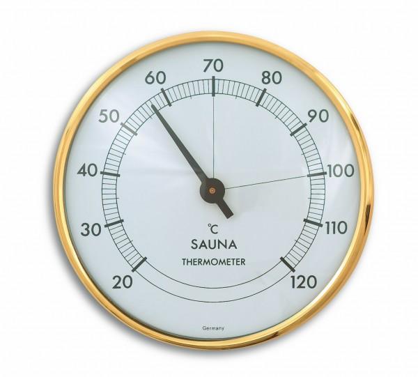 TFA 40.1002 Analoges Sauna-Thermometer mit Metallring