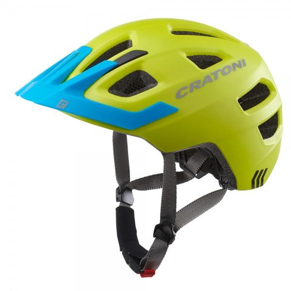 Cratoni Kinderhelm Maxster Pro Jugendhelm mit Rücklicht Fahrradhelm