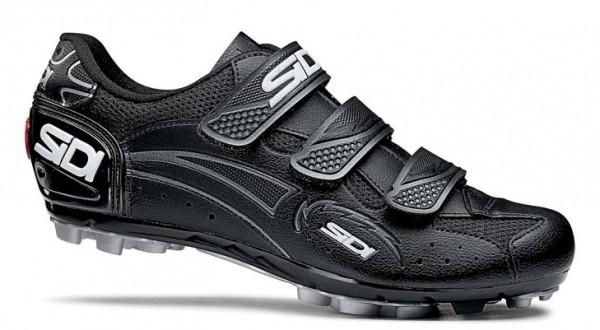 Fahrrad-Schuhe MTB Sidi Giau schwarz