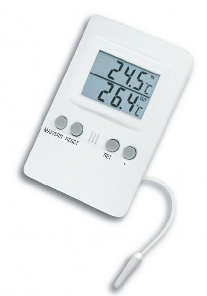 TFA 30.1024 Digitales Innen-Außen-Thermometer mit Alarm
