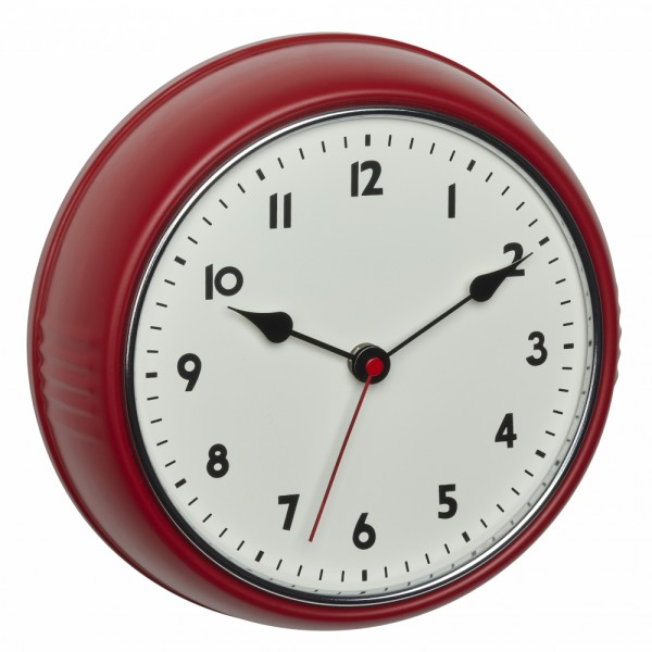 Analoge Funk-Wanduhr TFA 60.3541 Retro Uhr 240 mm