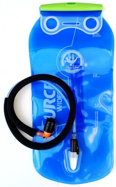 SOURCE Widepac LP mit isoliertem Trinkschlauch Trinkblase Trinksystem