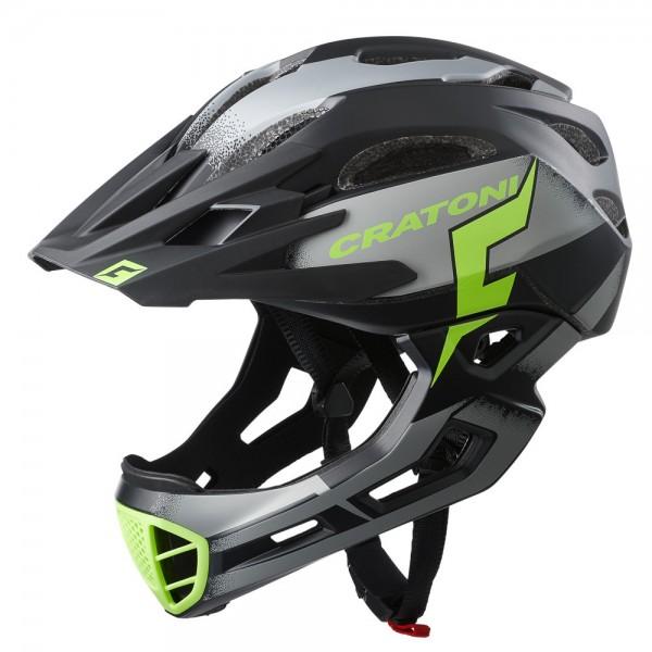 Cratoni C-Maniac Pro Fullfacehelm Downhill Freeride Kinnbügel Visier