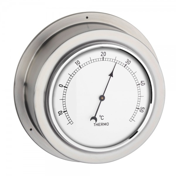 Schiffsthermometer Maritim TFA 19.2025.54 Edelstahl Thermometer