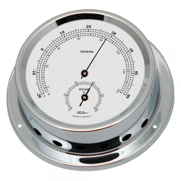 Fischer Maritimes Thermo-Hygrometer Präzision Messinstrumente