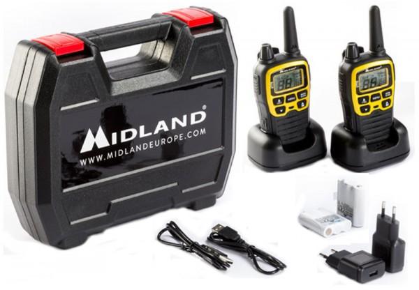 Midland Kofferset XT 70 Basic Adventure Edition Funkgeräte Sprechfunkgerät