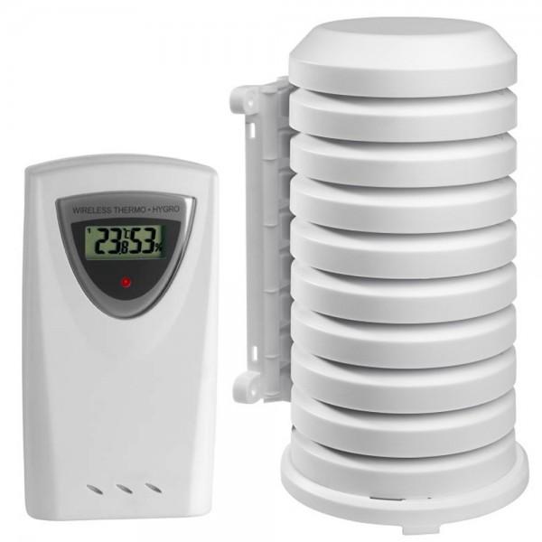 Funk-Sender TFA 30.3150 mit Wetterschutzgehäuse Temperatur Luftfeuchte