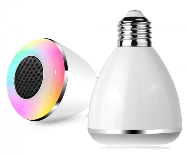 Sonderangebot LED Glühbirne Bluetooth Wecker Farbwechsler Sonderposten