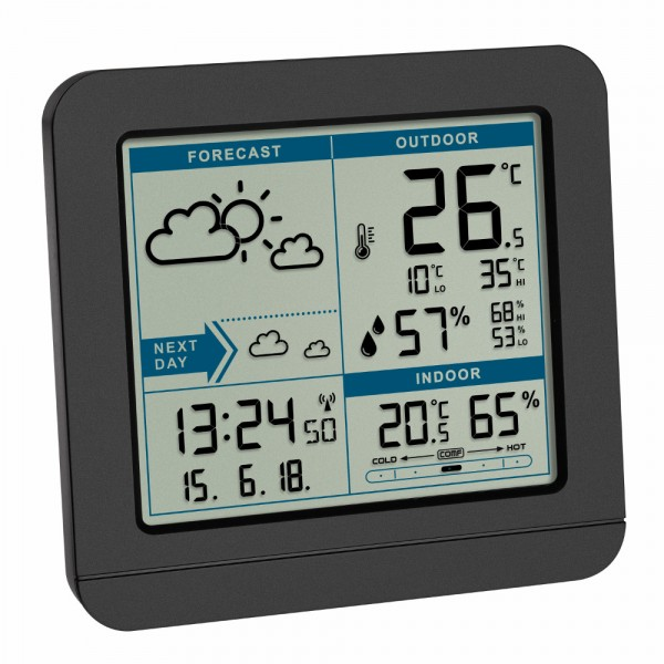 Funk Wetterstation SKY TFA 35.1152 Funkuhr Wetterstationen