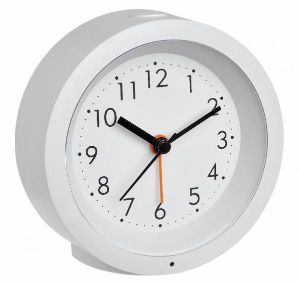 TFA-Dostmann Analog-Wecker Genua mit Sweep Uhrwerk TFA 60.1029.02
