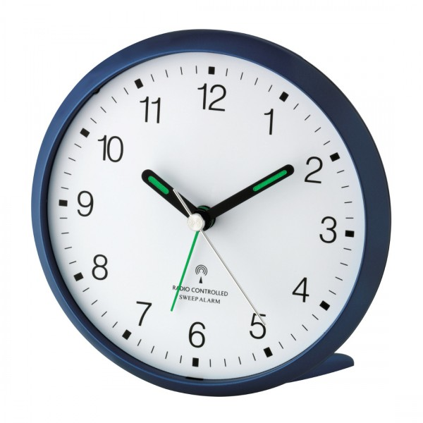 Analoger-Funkwecker mit lautlosem SWEEP-Uhrwerk TFA 60.1506