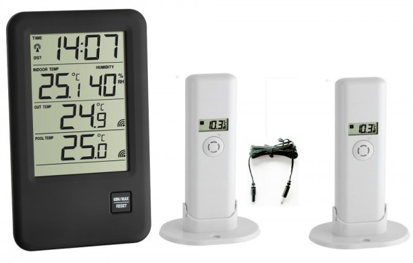 Funk-Thermometer Malibu Plus TFA 30.3053.Plus.IT