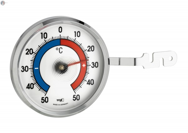 TFA 14.6005 Analoges Fensterthermometer aus Metall