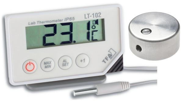 Sparset TFA 30.1034.01.99 Digitalthermometer LT 102 mit Temperaturbremse