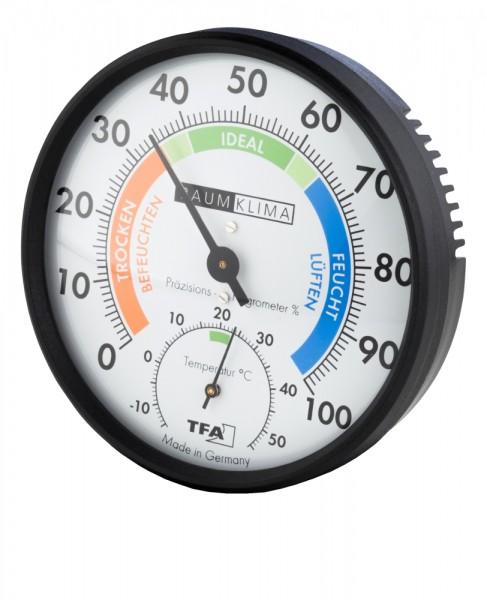 Präzisions-Hygrometer Klimatest TFA Dostmann 45.2030