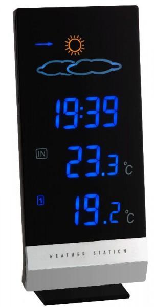 Wetterstation Lumax mit Farbdisplay TFA 35.1093