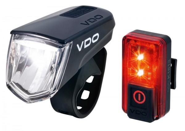 VDO Fahrradlampe ECO LIGHT M60 Set 4006 Brems-Rücklicht
