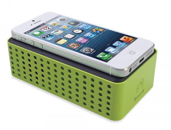 Sonderangebot TouchPlay CHILLOUT TFA 98.1109.04 Mobiler Lautsprecher für Smartphones
