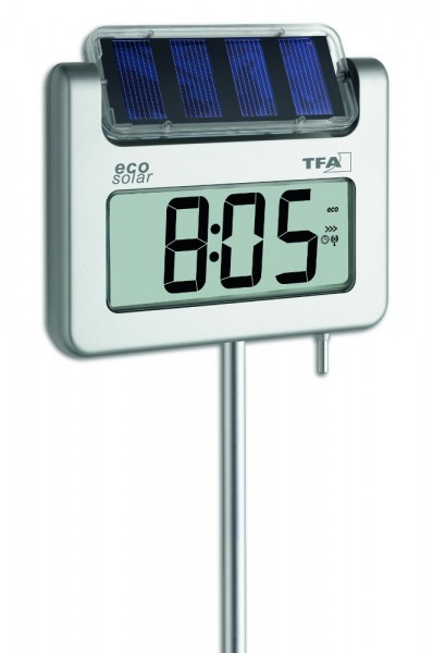 solar gartenthermometer avenue plus tfa. Black Bedroom Furniture Sets. Home Design Ideas