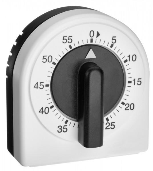 TFA 38.1041 Analoger Küchen-Timer mechanischen Aufzugswerk 60 min