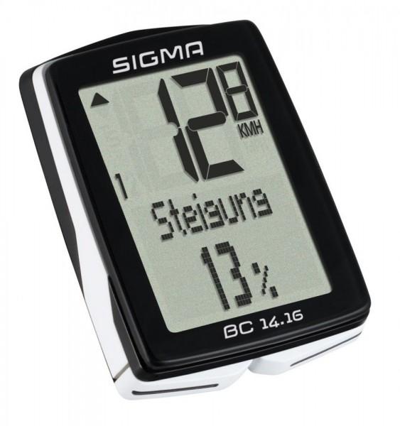 Sigma BC 14.16 Kabel Fahrrad Computer 01416 Fahrradtacho