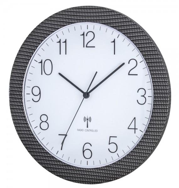 Funk-Wanduhr mit Sweep-Uhrwerk TFA 60.3512 Funkwanduhren 300 mm