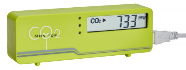 Aircontrol CO2 Monitor Mini TFA 31.5006.04 grün Raumluftüberwachung