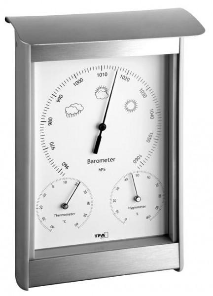 Wetterstation Aluminium 20.2045