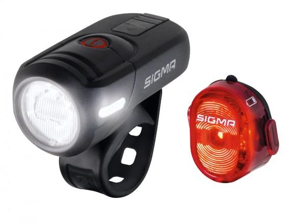 Sigma 17460 Aura 45 Set Leuchtstärke 45 Lux StVZO Lampenset