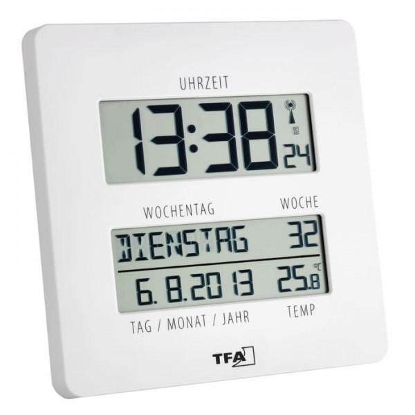 Funkuhr mit Temperaturanzeige Timeline TFA 60.4509.02