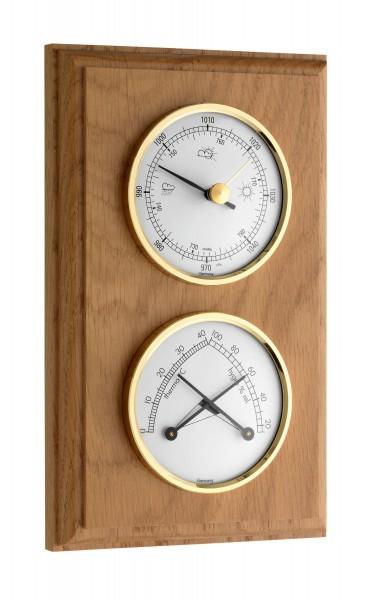 TFA 20.1087 Analoge Wetterstation aus Massivholz