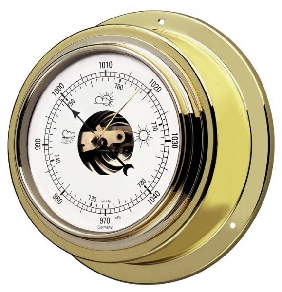 Schiffsbarometer TFA 29.4010.B messing massiv