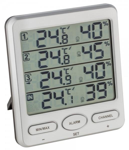 Thermo-Hygrometer Klima-Monitor TFA 30.3054 Raumklimakontrolle