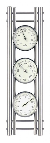 Wetterstation Aluminium 20.2041.55