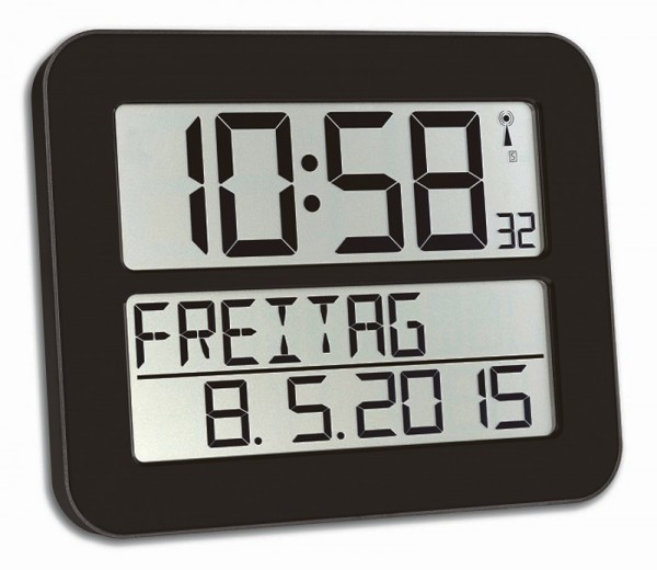 Funkwanduhr TimeLine Max TFA 60.4512 Funk-Wanduhren