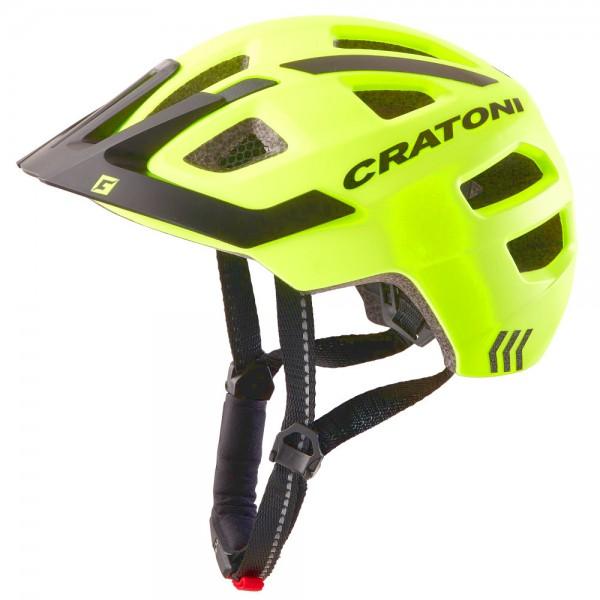 Cratoni Kinderhelm Maxster Pro-R 360° Reflection Jugendhelm Fahrradhelm