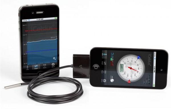 iCelsius Temperaturfühler für Apple iPhone iPad