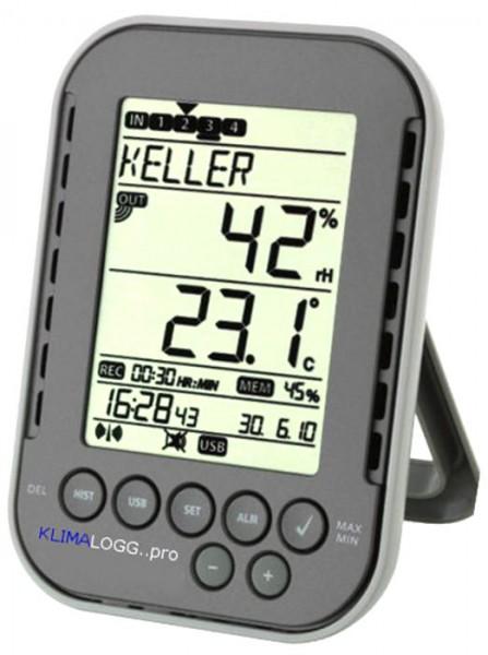 Profi-Klimalogger TFA 30.3039.10.IT Wetterladen Edition inkl. ISO-Zertifikat