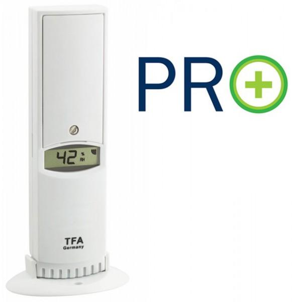 TFA 30.3312.02 Temperatur-Luftfeuchtesender mit PRO Funktion für WeatherHub-Gateway