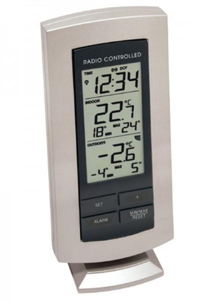 TechnoLine Funkthermometer WS-9140-IT schwarz-silber incl. Batterien
