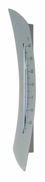 TFA 12.2031 Analoges Innen-Außen-Thermometer aus Metall RADIUS