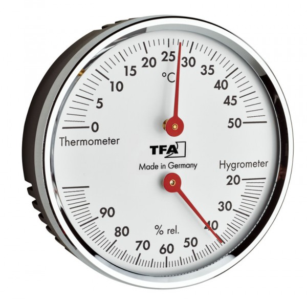 Thermo-Hygrometer TFA 45.2041.42 Temperaturüberwachung