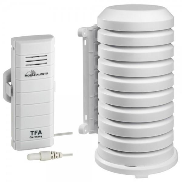 Weatherhub Temperatur Kabelsender TFA 30.3301.02 mit Wetterschutzgehäuse