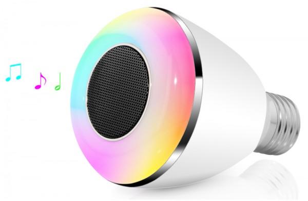 SPEQ Bluetooth Smart LED Birne SP-233 mit Wake Up Funktion LED+Musiklautsprecher